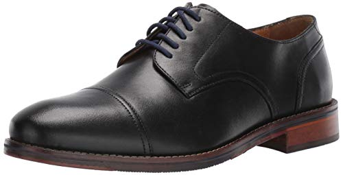 Florsheim Men's Salerno Cap Toe Oxford, Black