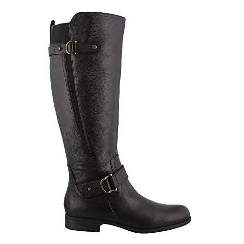 Naturalizer Womens Jillian Black Knee High Boots