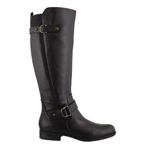 Naturalizer Womens Jillian Black Knee High Boots