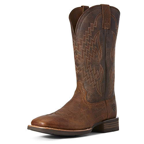 Ariat Men's Tycoon Western Boot, Sorrel Crunch/tack Room Honey