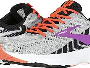Brooks Women's Launch 6 Grey/Black/Purple