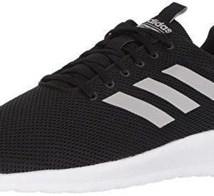 adidas Men's LITE Racer CLN Running Shoe, Black/Grey/White