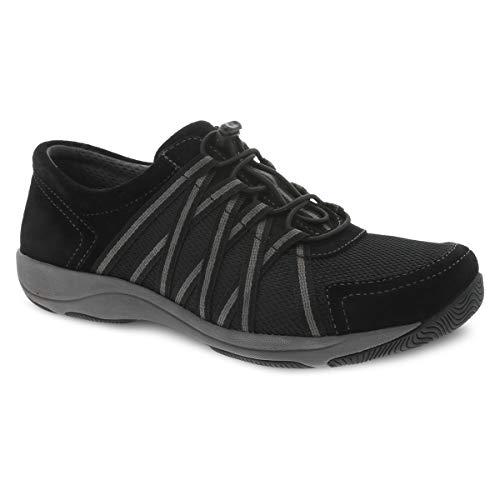 Dansko Women's Honor Black/Black Comfort Shoes