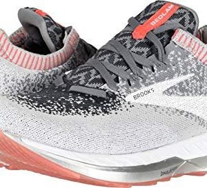 Brooks Women's Bedlam Grey/Coral/White