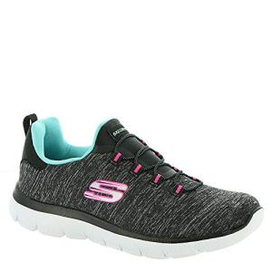Skechers Summit - Quick Getaway Black/Light Blue