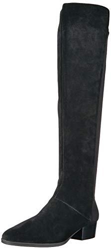 Aerosoles Women's Cross Country Knee High Boot, Black Suede