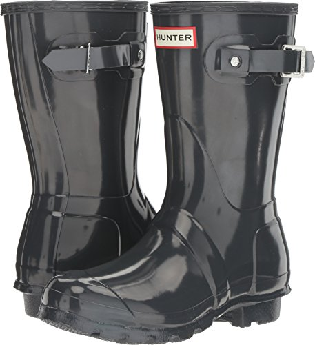 Hunter Women's Original Short Gloss Dark Slate Rain Boots