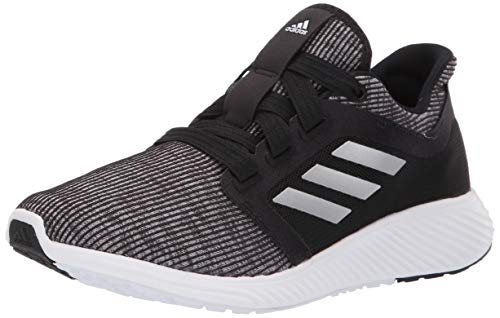 adidas Women's Edge Lux Running Shoe, Black/Silver Metallic/Black