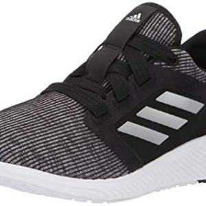 adidas Women's Edge Lux Running Shoe, Black/Silver Metallic/Black