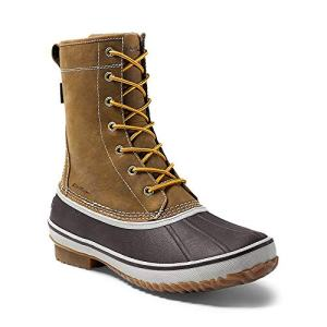 Eddie Bauer Men's Hunt Pac Boot, Tan Regular