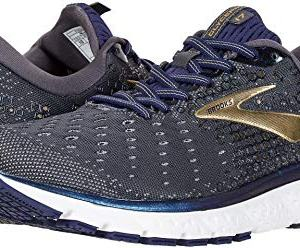Brooks Men's Glycerin 17 Grey/Navy/Gold