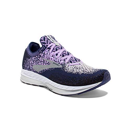 Brooks Womens Bedlam Running Shoe - Purple/Navy/Grey
