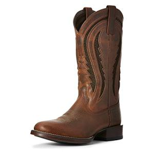Ariat Men's Butte Venttek Western Boot, Copper Penny/Cinnabark
