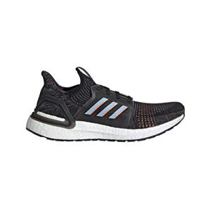 adidas Men's Ultraboost 19 Running Shoe, Black/Glow Blue/Black