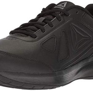 Reebok Men's Walk Ultra 6 DMX Max Cross Trainer, Black/Alloy