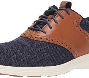 Cole Haan Men's Grand Tour Knit Oxford Marine Blue