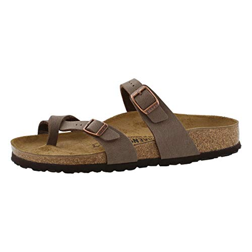 Birkenstock Women's Mayari Narrow Fit Birko Flor Buckle Sandal