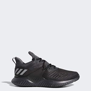 adidas Men's Alphabounce Beyond 2 Running Shoe, Black/Silver Metallic/Carbon