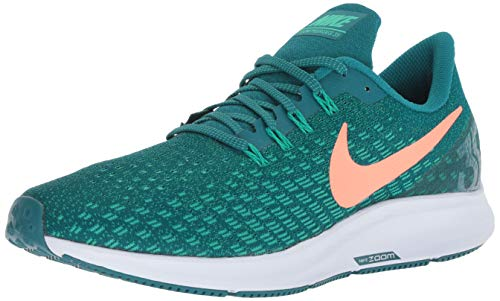 Nike Men's Air Zoom Pegasus Running Shoe Geode Teal/Bright Mango/Clear