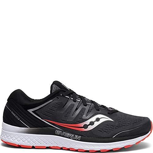 Saucony Men's Guide ISO 2 Running Shoe, Black