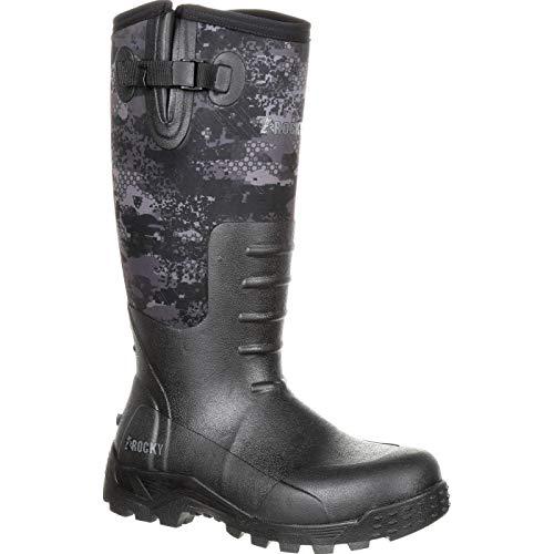 ROCKY Men's Sport Pro Rubber Waterproof Outdoor Boot Knee High