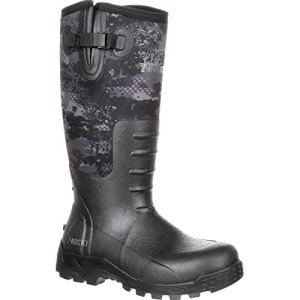 ROCKY Men's Sport Pro Rubber Waterproof Outdoor Boot Knee High