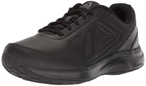 Reebok Men's Walk Ultra 6 Dmx Max Sneaker, Black/Alloy