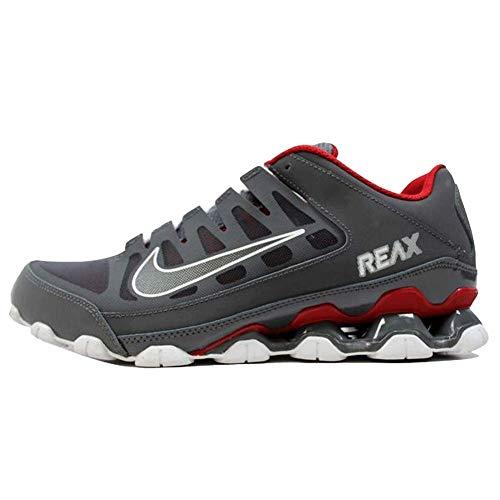 Nike Mens Reax 8 Training Shoe Mesh Dark Grey/Dark Grey-Gym