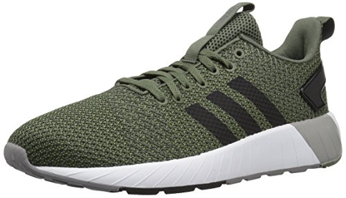 adidas Men's Questar BYD Running Shoe, Base Green/Black/Grey