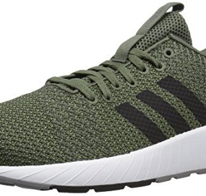 adidas Men's Questar BYD Running Shoe, Base Green/Black/Grey