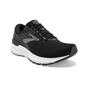 Brooks Mens Adrenaline Running Shoe - Black/Ebony/Silver