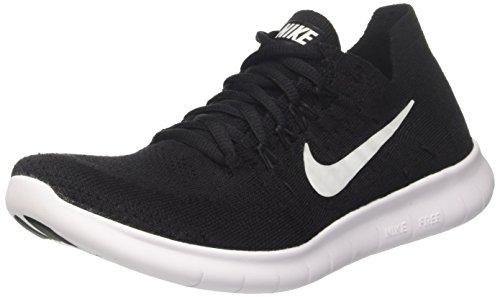 Nike Men's Free RN Flyknit 2017 Training Shoes, Black