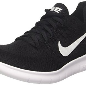 Nike Men's Free RN Flyknit 2017 Training Shoes, Black