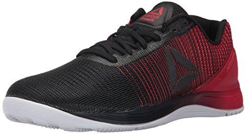 Reebok Men's CROSSFIT Nano 7.0 Cross-Trainer Shoe, Black/White/Primal Red