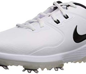 NIKE Men's Vapor Pro Golf Shoe, White/Black