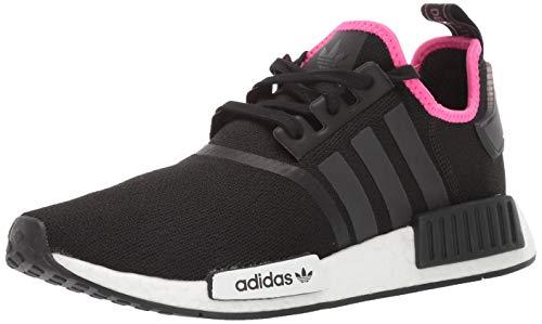adidas Originals Men's Running Shoe, Black/Black/Shock Pink