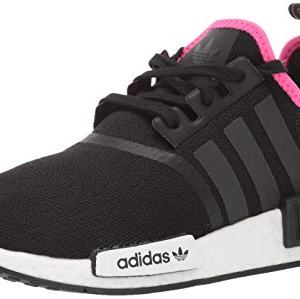 adidas Originals Men's Running Shoe, Black/Black/Shock Pink