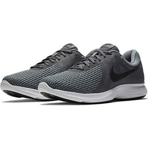 Nike Men's Revolution 4 Running Shoe, Dark Grey/Black-Cool Grey/White