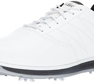 Skechers Men's Go Golf Pro 3 Golf Shoe,White/Navy