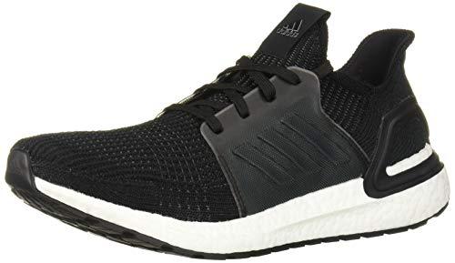 adidas Men's Ultraboost Running Shoe, Black/Black/White
