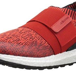 adidas Men's Crossknit 2.0 Golf Shoe, hi-res red Carbon/FTWR White