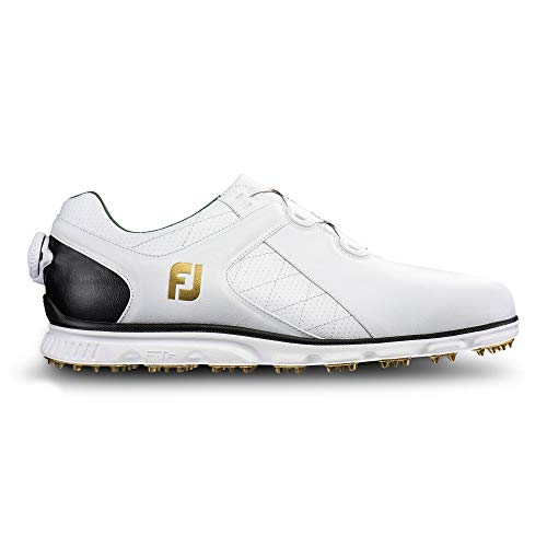 FootJoy Men's Pro/SL Boa-Previous Season Style Golf Shoes White