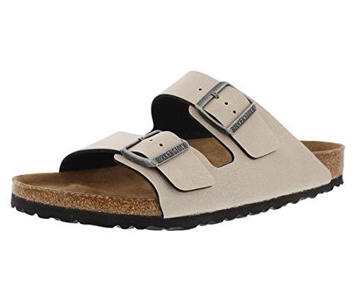 Birkenstock Unisex Arizona Slide Sandal, Stone