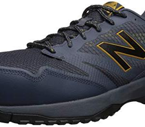 New Balance Men's Work Industrial Shoe, Chalkboard/Sunflower/Light Cliff Grey
