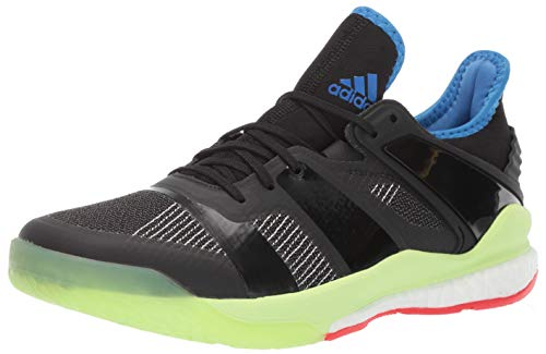 adidas Men's Stabil X, Black/Black/Yellow