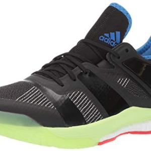 adidas Men's Stabil X, Black/Black/Yellow