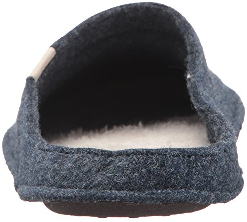 Crocs Classic Slipper Mule, Nautical Navy/Oatmeal WARM AND FUZZY FEELINGS INSIDE: A slipper from Crocs with the entire consolation you've got been ready for; The Classic Slippers for men and women are made of soppy cloth and fuzz for splendid consolation round the home TOASTY FOOTBED: The slippers are made with delicate textile uppers, a toasty fuzz footbed and artificial suede bottoms; These males's and ladies's slippers are excellent for padding round the home GRIPPER PODS: The outsole of the ladies's and males's slippers have been designed with traction in thoughts; Gripper pods on the outsoles will help you transfer round with out the concern of slipping CLASSIC CROCS INSPIRED: The gap sample on high is impressed by the Crocs Classic Clog; Crocs is aware of all about consolation, and these slippers for women and men ship SLIPPERS FOR WOMEN AND MEN: The Classic Slippers for women and men are excellent for maintaining your toes heat however not too sizzling; Add these slippers to your wardrobe to cuddle up on chilly days Felt slipper with delicate suede backside