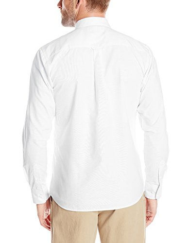 IZOD Uniform Men's Young Long Sleeve Button-Down Oxford Shirt Young's males's match Blended cotton wealthy cloth for simple care Button down collar Patch pocket Box pleat on again with exterior locker loop 55% Cotton/45% Polyester Izod deliver easy sophistication to your casual-cool look on this long-sleeve woven Oxford Shirt for younger males. Features a Button Down Collar, Chest pocket, and a field pleat on the again for a basic and cozy match. This shirt makes use of blended cotton wealthy cloth for simple care.