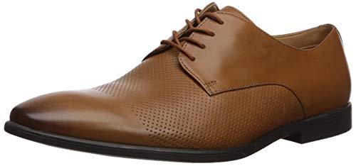 Clarks Men's Bampton Cap Oxford, tan Leather