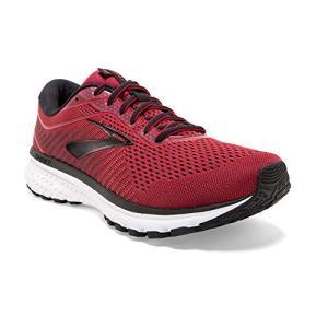 Brooks Mens Ghost 12 Running Shoe - Red/Biking Red/Black